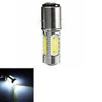BA20D H16 4 початка LED белый свет лампы для велосипеда мопед двигателя скутер ATV фары