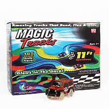 Magic Tracks 165 деталей - Дитяча іграшкова залізниця - Хіт