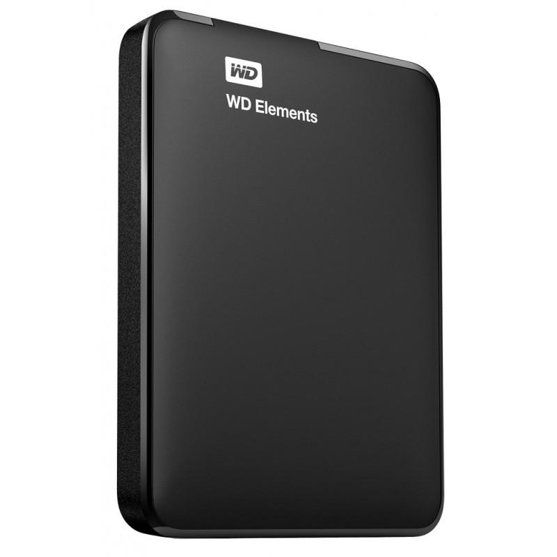 "Жесткий диск Western Digital Elements 1TB WDBUZG0010BBK-EESN 2.5 USB 3.0 External Black (Tray) ""Over-Stock"""
