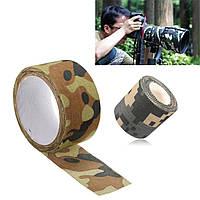 5x500 / 1000cm водонепроницаемый камуфляж военный камуфляж лента стелс обертка для охоты кемпинга