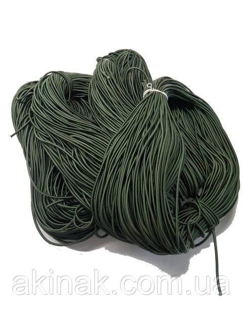Резинка-еспандер 4мм.Olive