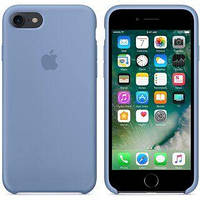 Original silicone case for iPhone 8 azure