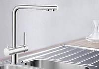 Смеситель для кухонной мойки хром Blanco FONTAS  (Бланко Фонтас)