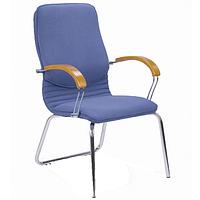 Nova CFA LB wood (Нова вуд конференц) кресло для конференц-зала с инкрустацией деревом