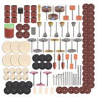 350шт Rotary Инструмент Набор принадлежностей для шлифования шлифовальной полировки