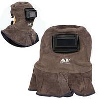 AP-3001 кожаный шлем сварки сварного шва безопасности объектива лицевой щиток с автоматическим темным фильтром