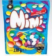 Драже з молочним шоколадом Mimi, 230 гр