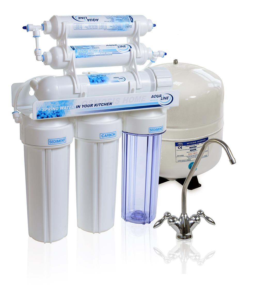 Фильтр для воды с минерализацией Aqualine RO-6 МТ18