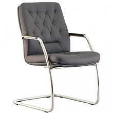 CHESTER steel cf lb chrome (Честер) кресло для конференц-залов