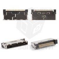 Коннектор зарядки LG A7150, C2100, C3300, C3310, C3320, C3400, F1200, G1600, G1610, G7030, L1100, L342i, MG200, фото 1