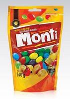 Драже орешки в шоколаде Monti, 240 гр