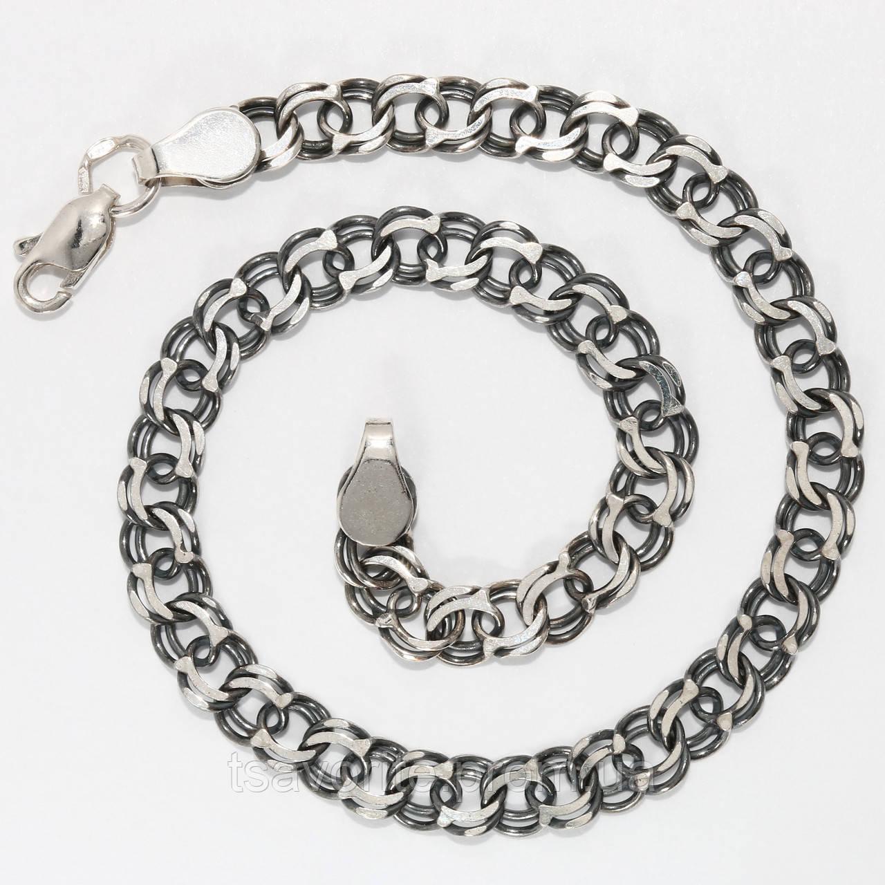 Серебряный браслет ЕХМ-51