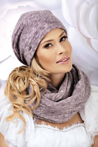 Стильная женская шапка-бандана Gufi от Willi Польша, фото 2