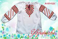 """Сорочка для дівчинки """"Реглан"""" (Пошита заготовка)"""