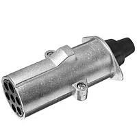 Семь контактный разъем прицепа семь отверстий алюминиевая пробка п тип 24v