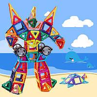 Кирпич образования 3d поделки магнитный квадрат треугольник шестиугольные строительных блоков Enlighten Дети игрушки