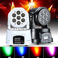 LED Перемещение освещения этапа DJ клуба диско партии Рождество лампы головы DMX512 70w RGBW