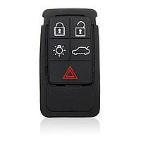 5 кнопок дистанционного ключа замена резиновый коврик для s60 s80 Volvo XC70 XC90