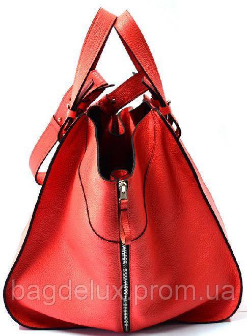 398ac11ed381 Удивительного дизайна женская сумка яркого красного цвета из натуральной  кожи GBAGS красный B.0017 красный, цена 2 799 грн., купить в Харькове —  Prom.ua ...