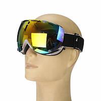 Анти Fog UV Colorful Объектив Ski мотоцикл Goggle Outdooors Snow Snowboard Mountain Bike Очки Eyewear