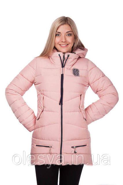 Куртка зимняя женская молодежная на тинсулейте Размеры 44-46-48