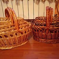 Наборы пасхальных корзин из лозы набор 4шт