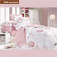 Постельное Белье Viluta ткань Ранфорс, Евро размер 8626 нежно розовый