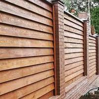 Забор из термообработанной сосны