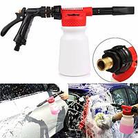 900мл чистки автомобиля бутылки мытья пены инструмент пистолет вода мыло шампунь распылитель омывателя