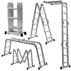 Лестница шарнирная Forte 4x4