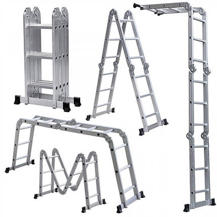 Лестница шарнирная Forte 4x4, фото 2