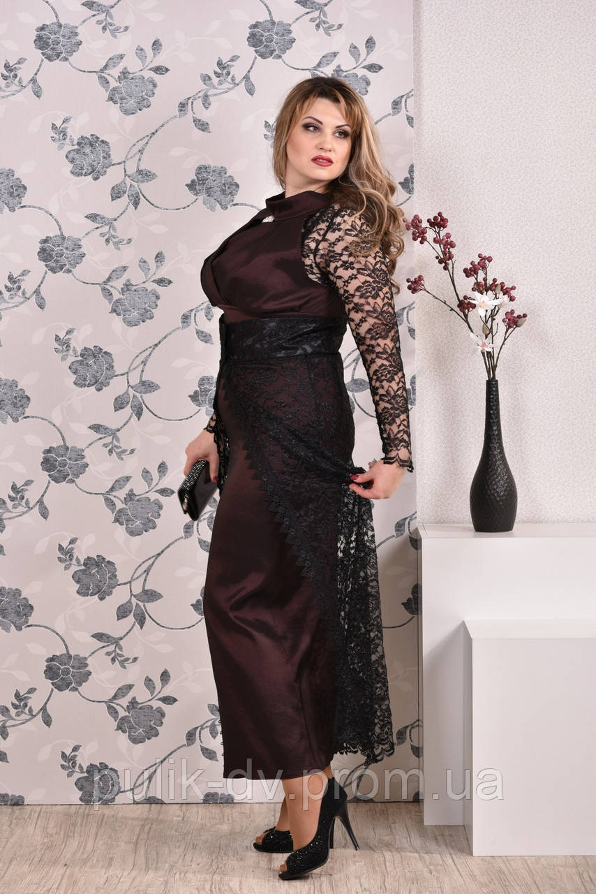 Коричневое платье 0192 (юбка опционально) - Margo&Ko в Одессе