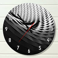 "Настенные часы - ""Волна"" (на пластике)"