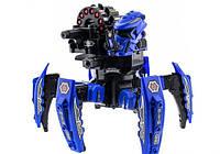 Большой боевой робот - паук детская игрушка с лазерным прицелом и стрелами