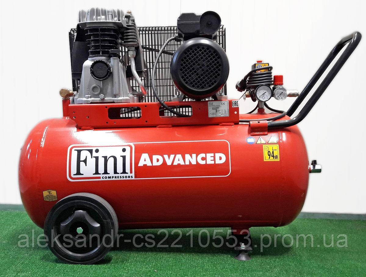 Fini MK103-90-3T - Компресор поршневий 365 л/хв. (380 В)