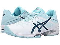 Кроссовки/Кеды (Оригинал) ASICS Gel-Solution® Speed 3 White/Blue Steel/Crystal Blue
