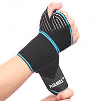 Поднятие тяжестей фитнес рука бинт эластичный травмы запястья поддержки спорта защитный браслет
