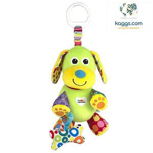 Розвиваюча іграшка для малюків Щеня з кісткою Lamaze