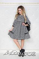 Платье Ткань фланель №371н-молочный
