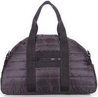 d33c934a1748 Poolparty Вместительная стеганая дутая сумка черного цвета
