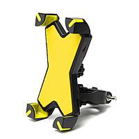 Руль держатель стрейч крепление х стиль для мотоцикла велосипед скутер GPS 3.5-6.5-дюймовый телефон