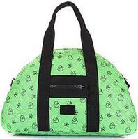 22bb06115403 Poolparty Вместительная стеганая дутая сумка зеленого цвета