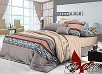 Комплект постельного белья сатин евро TM Tag 083