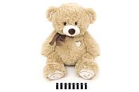 Мягкая игрушка плюшевый Медведь с бантом S-JY4505\45 сидячий 45 см, мишка