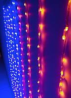 Гирлянда светодиодная Дождь Водопад (штора-занавес) 320 л. LED 1.3x1.5 м