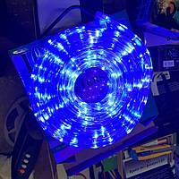 Гирлянда уличная лента светодиодная синяя (LED) 10 м