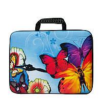 Сумка для ноутбука 4 Рисунка Бабочки