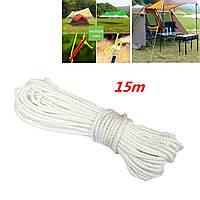 Многофункциональный кемпинг поход маркизы аксессуары палатка веревку Nylon 15м
