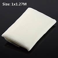 100x127cm белый шелк трафаретная печать ткани ткань 110 меш 43t