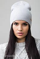 Стильная женская шапка Кира, размер 54-60 см